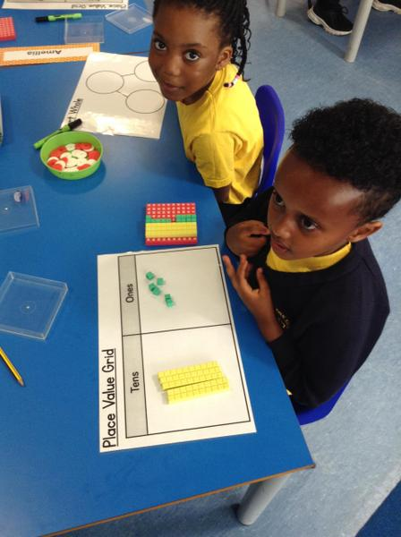 We are discovering numbers in 2F in September.