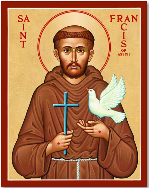St Francis of Assisi - I can learn anything I want to