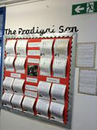 Our Scripture based display KS2