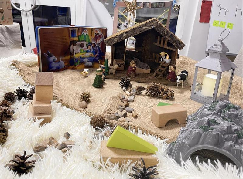 Our Nativity Small World.