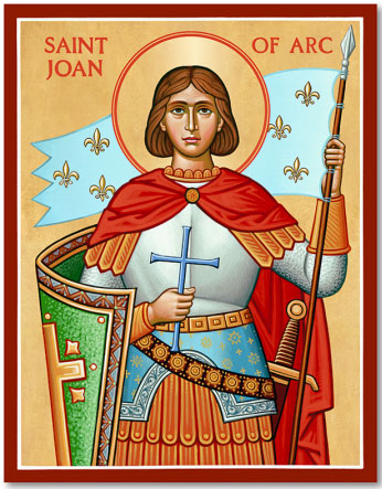 St Joan of Arc - I like to challenge myself