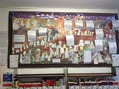 Our Scripture based display KS1