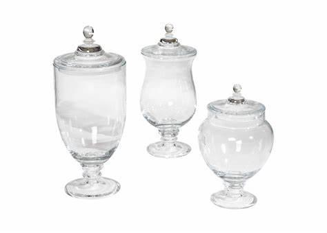 Glass Jars and Jugs of all sizes and shapes