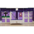 Our Lenten focal point in our Hall