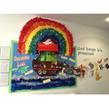 Our Scripture based display EYFS