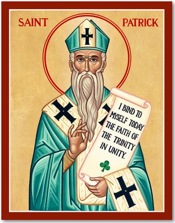 St Patrick - I take a risk