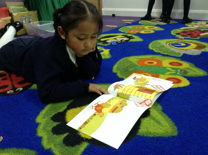 ...but we also like to read by ourselves too!