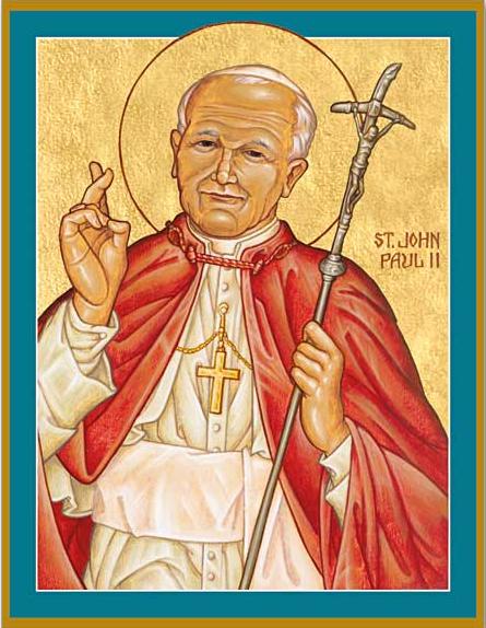 St John Paul II - I never give up