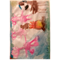 The Three Pigs Painting by Cecilia - I love all of the colours you have used