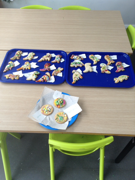 Look at our delicious biscuits!