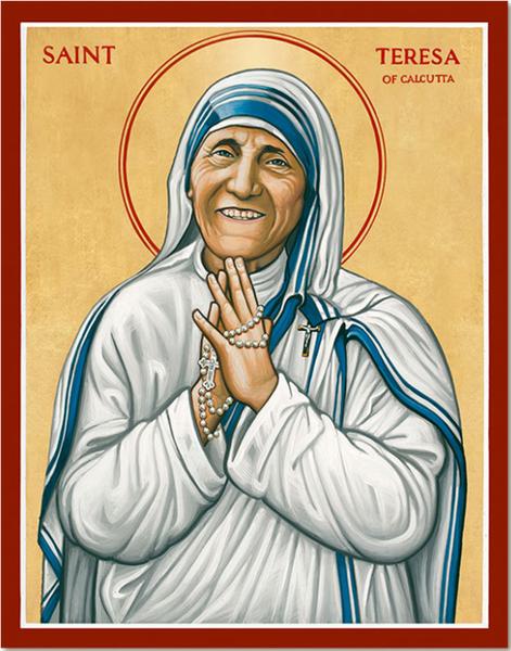 St Teresa of Calcutta - I can always improve
