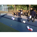 Year 4 testing their cars