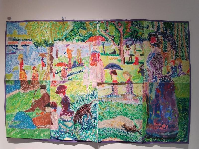 Year 4 - Georges Seurat