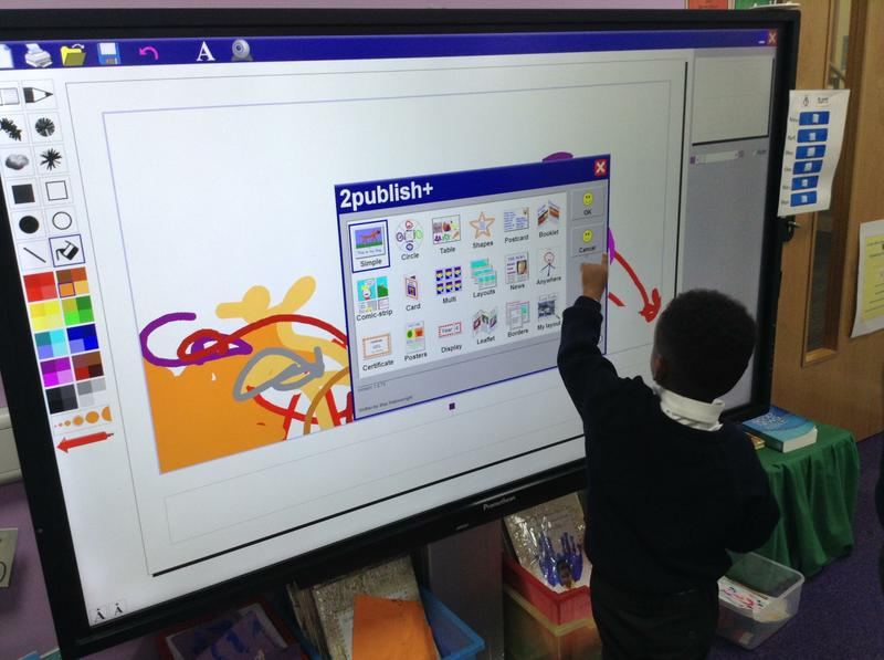 We can use technology independently.