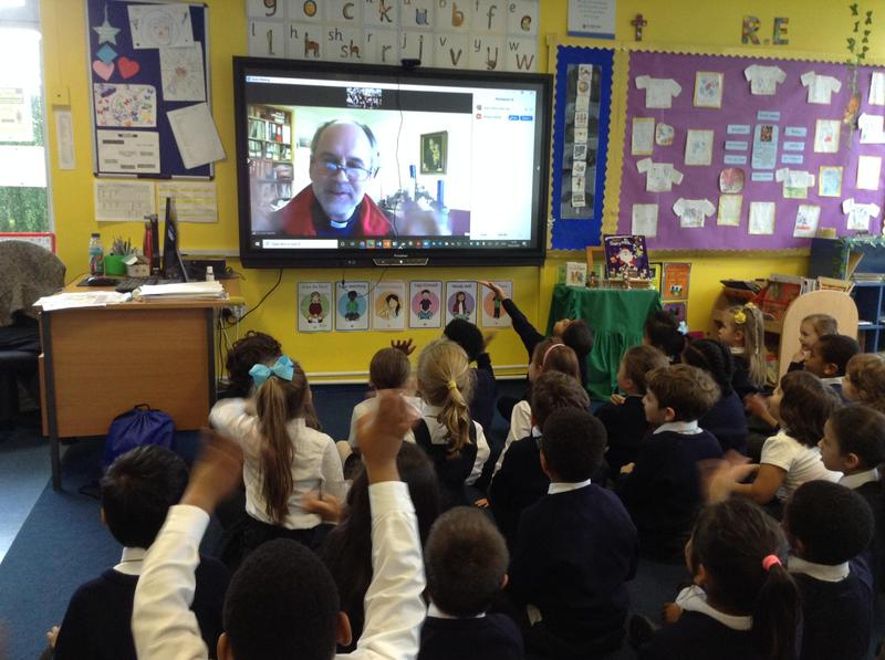 We still get to speak to Fr Richard! We Zoom called him to ask him about Advent!