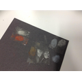 Collecting prints using cocoa powder and chalk