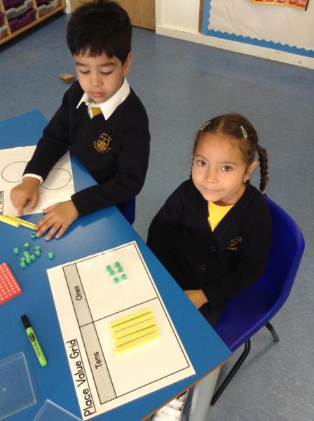 Here we have made lots of numbers using Base 10.
