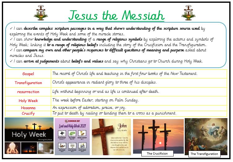 Religion - Jesus the Messiah