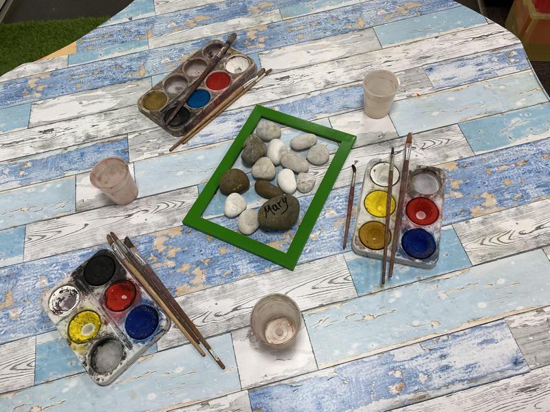 Ditch the paper! Let's paint rocks!