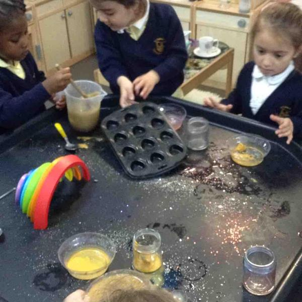 Magical potions in our water play