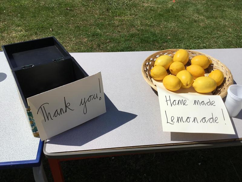 Our school community were very generous!