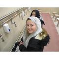 Where Muslims perform Wudu (washing)