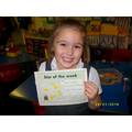 Star of the week 29.01.16