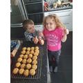 Your cheese scones look delicious!🌟