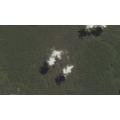 clouds cast shadows over the Amazon, Google Earth