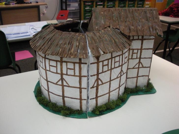 A Model of the Globe Theatre