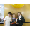We made moon buggies out of K'nex!