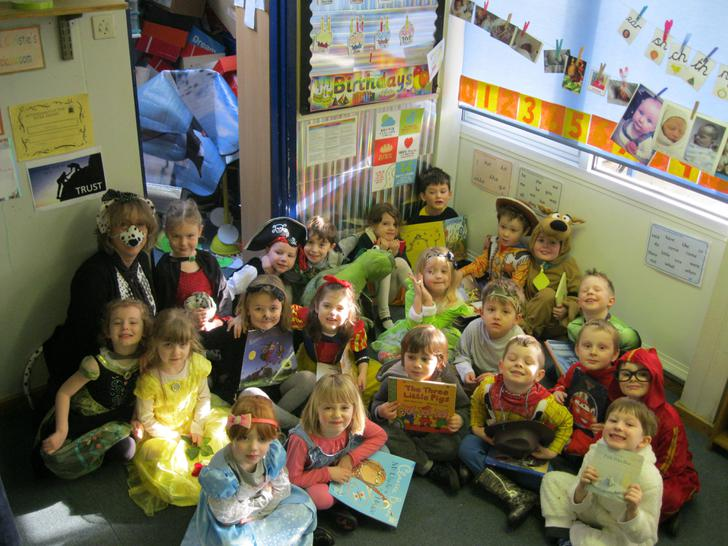 We had such fun looking at all our favourite books