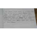 Leo's writing.