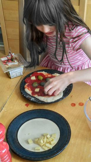 Fractions - making a real pizza!