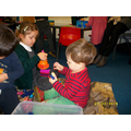More building with sticklebricks