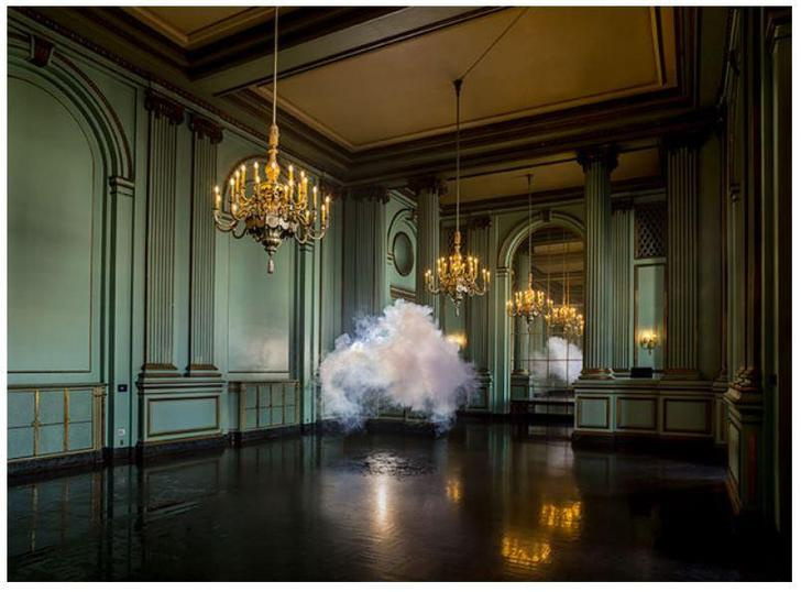 A cloud in the room, by Berndnaut Smilde