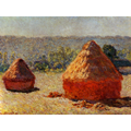 Haystacks, End of Summer, Morning - Claude Monet