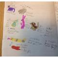 Darcey-Bella's French animal descriptions.