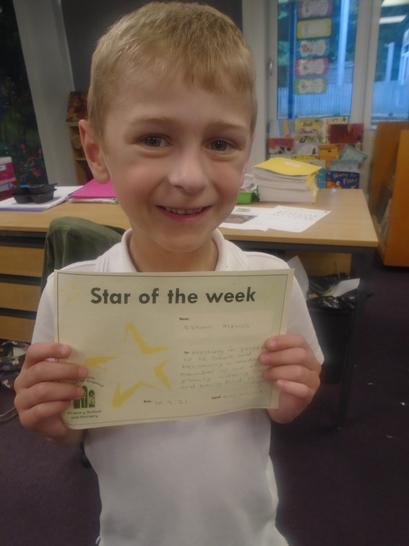 Great start to Year 1 Ethan