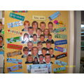 Our door to our wonderful classroom