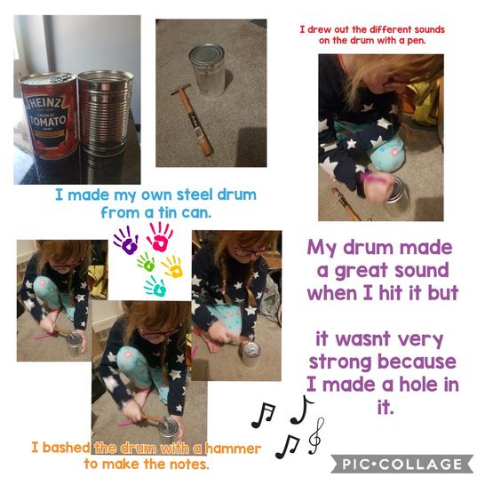Look at this steel drum.