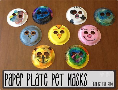 paints & felt decorated plates