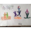 Verity's artwork.