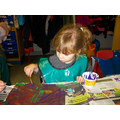 Painting was very popular!