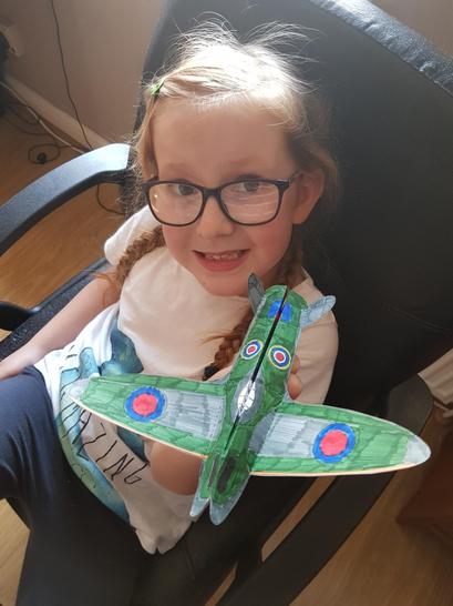 Making a Spitfire.