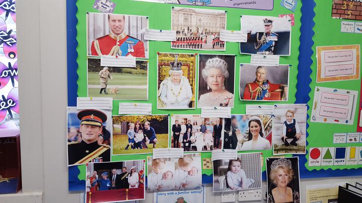 This is our information collage about the Queen!