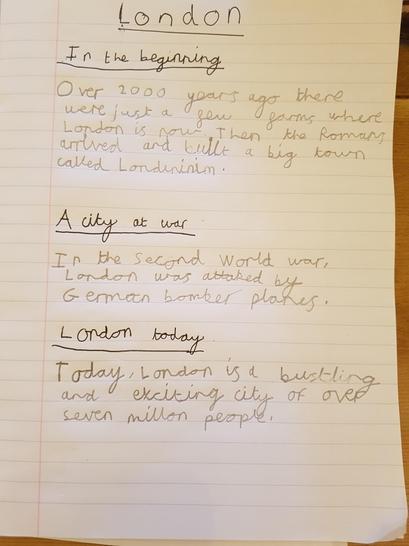 FD Writing - London