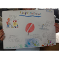 Darcey-Bell'a pollution poster.