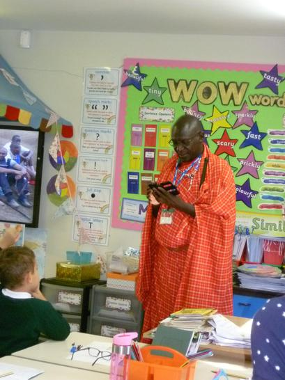 Even Maasai Warriors have mobile phones!