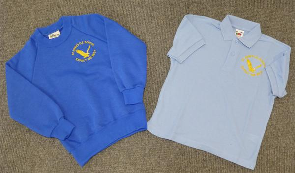 Sweatshirts £10 - Polo Shirts £8